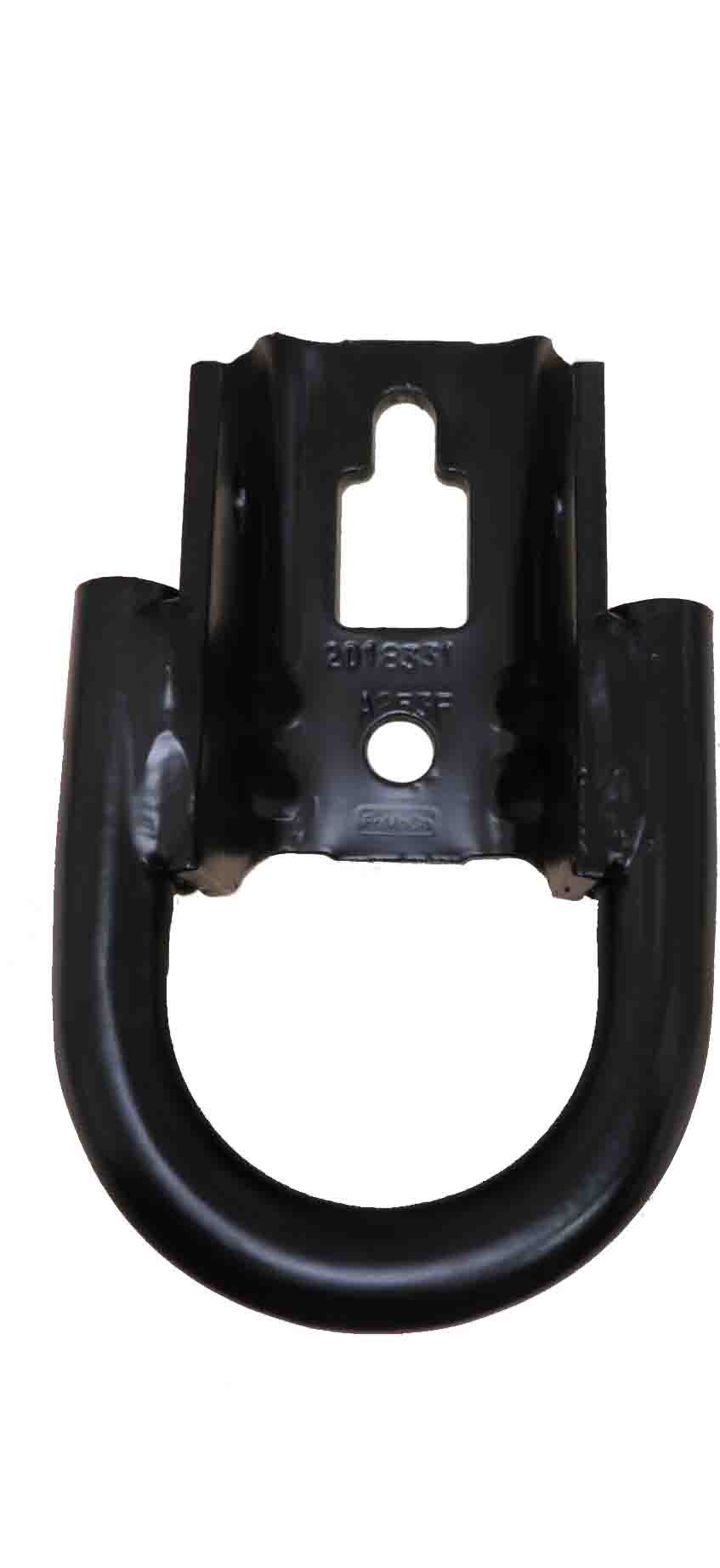 FL3Z-17N808-A Ford OEM F-150 Front Tow Hooks Powder Coated Black Single